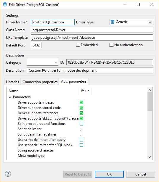 Dbeaver access denied for user